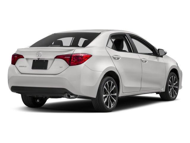 2018 Toyota Corolla Xse Cvt Toyota Dealer Serving