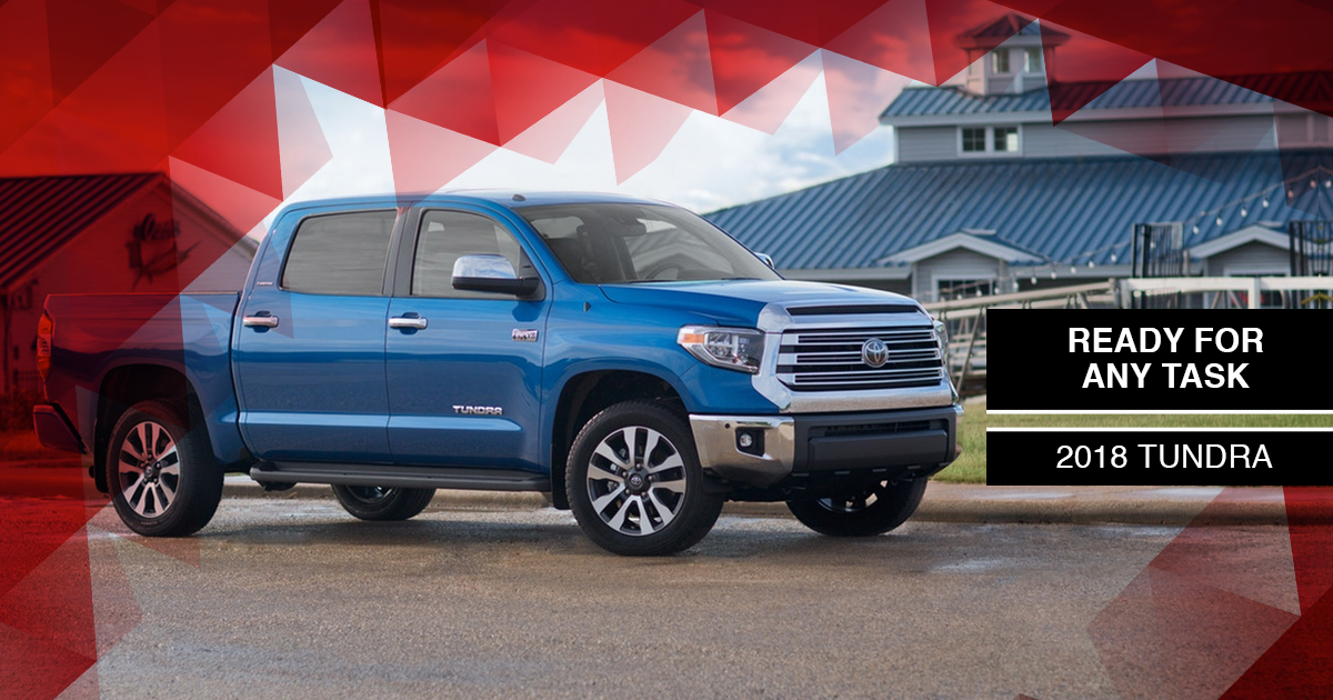 Top 3 Reasons To Buy The 2018 Tundra At Waldorf Toyota